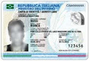 Carta d'identità elettronica .