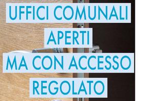 Modalità di accesso agli uffici comunali