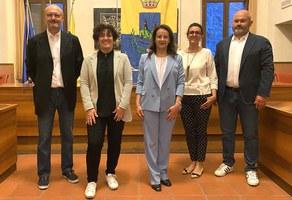 Il saluto di Eleonora Urbinati e la nuova giunta con le varie deleghe