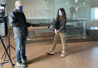 Le telecamere di 'Sì, Viaggiare' del Tg2 a Verucchio