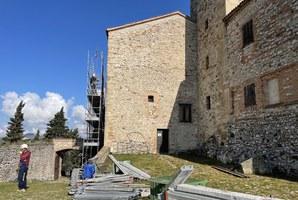Manutenzione straordinaria anti infiltrazioni al tetto della Rocca
